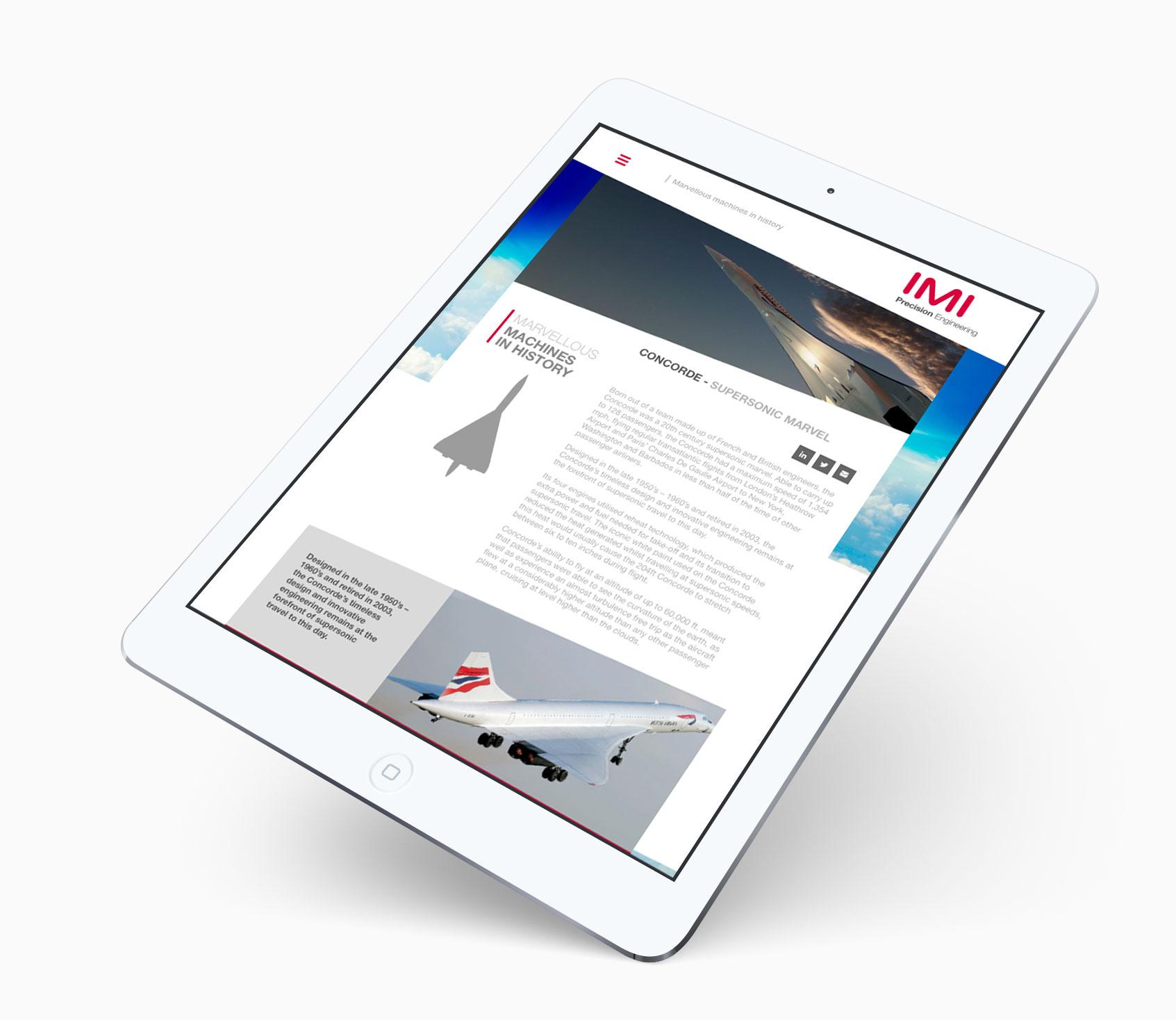 Mans-most-marvellous-machines-website-on-tablet