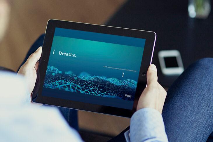 Breathe playbook on iPad