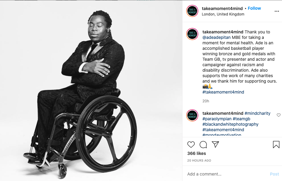 Take a moment 4 mind featuring Ade Adepitan MBE